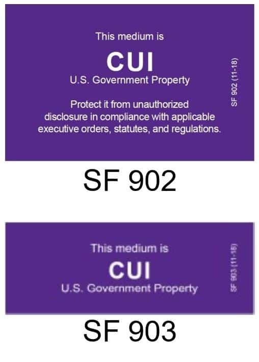 SF CUI Markings